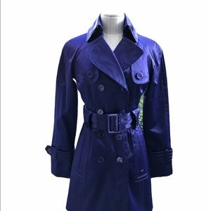 Jessica Simpson Stain Finish Trench Coat X-Small